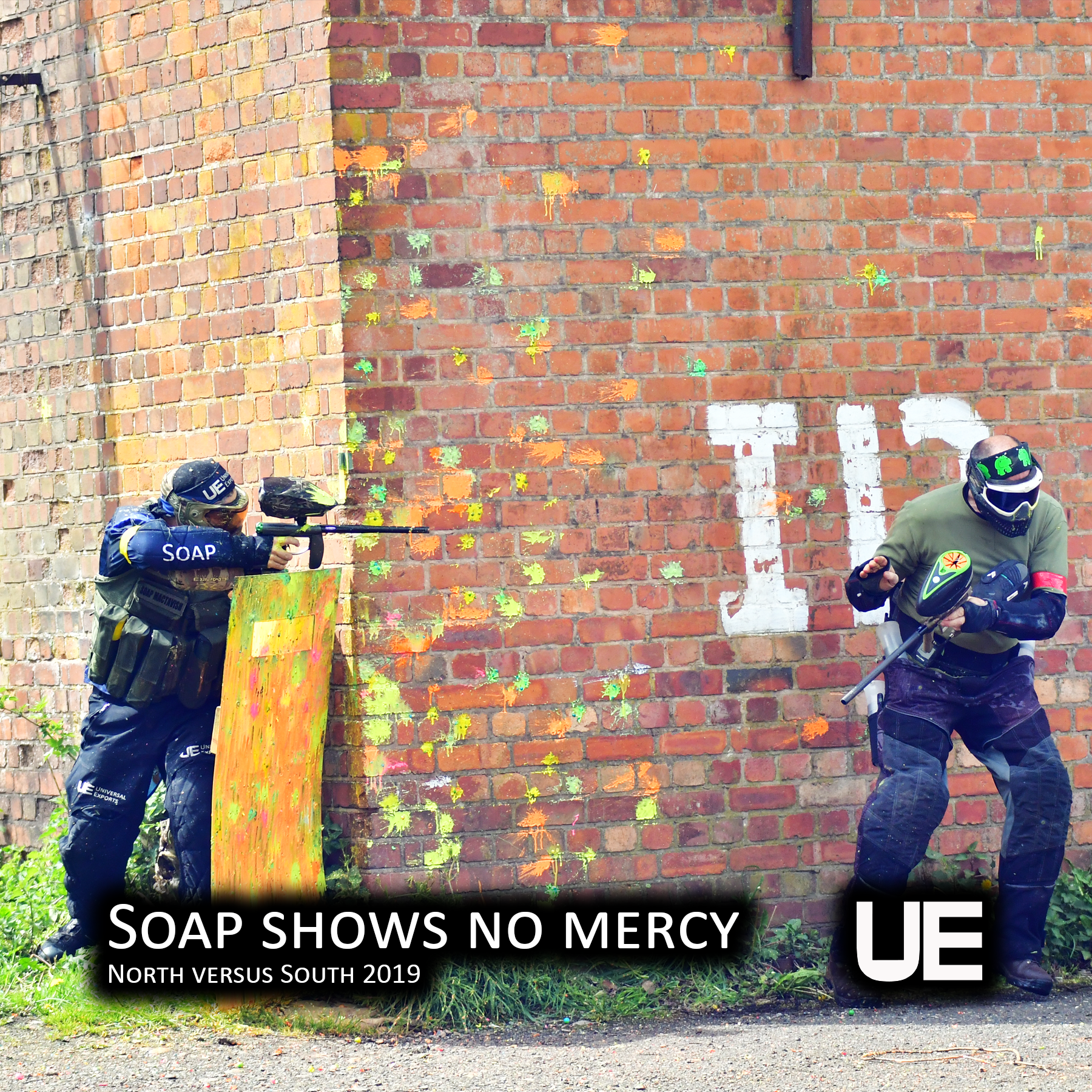Soap shows no mercy